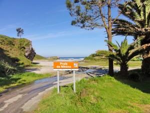 Praia de Ninons, Galicia