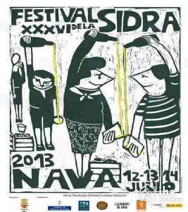 Photo of cider festival in Nava