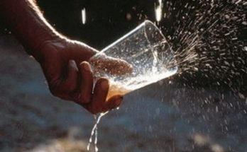 Photo of pouring cider