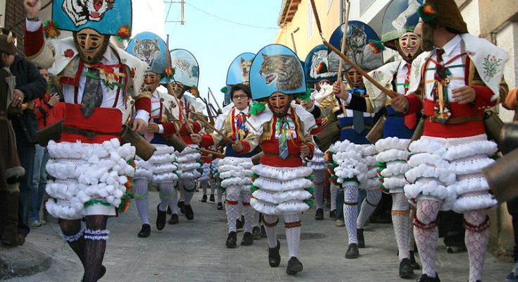 Photo of Carnival in Laza, Galicia