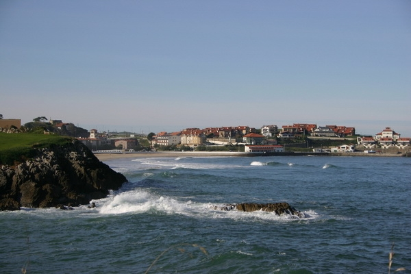 Comillas from the coastal road