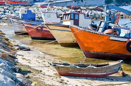 Rias Baixas boats