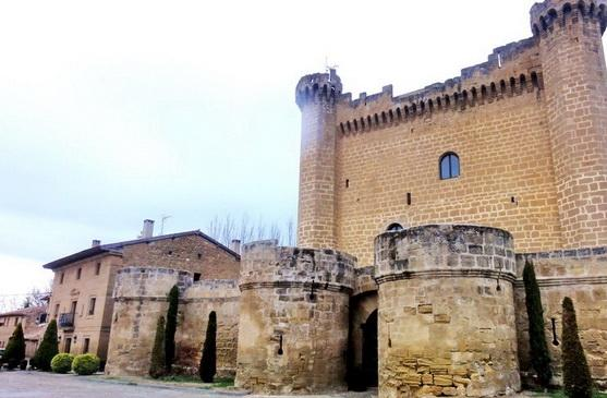 The castle of Sajazarra
