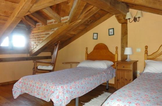 Atrium bedroom