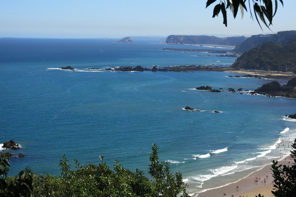 Coastline near Salamir