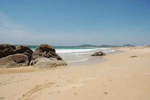 Corrubedo - beach and dunes 3km