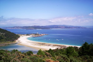 Islas Cies and Ons