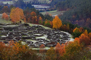 Celtic settlements in W. Asturias