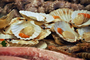 Shellfish from the Rias Bajas