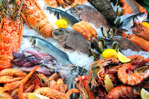 Great seafood of Galicia