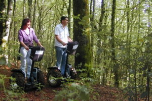 Segway through the Irati forest