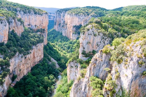 The Arbayun gorge near Ecay