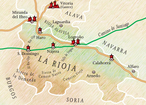 La Rioja wine region holiday hotels carefully selected hotel holidays
