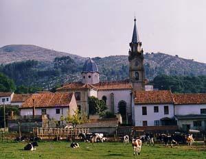 Ermita (and restaurant) El Remedio, Ruiloba