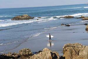 Easter surf